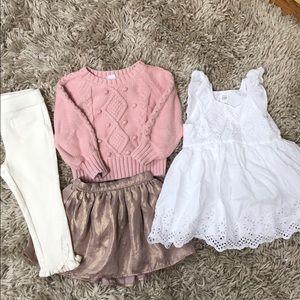 Toddler girl Gap clothing size 2